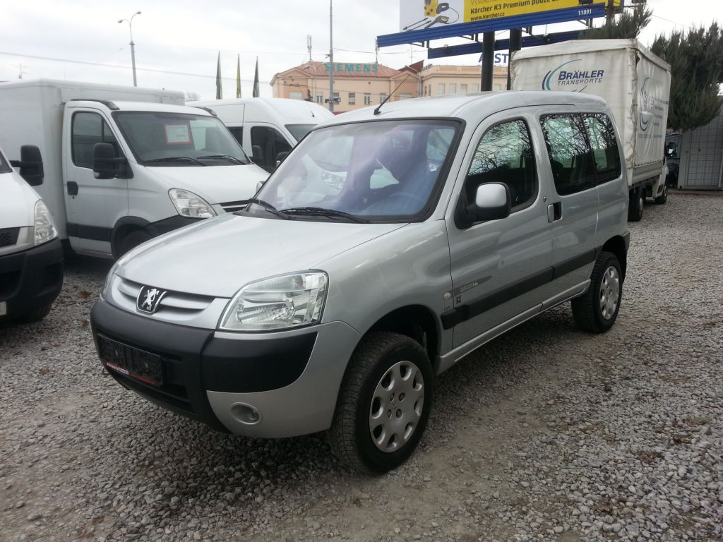 Peugeot Partner 2.0 HDI 4x4 QUICKSILVER