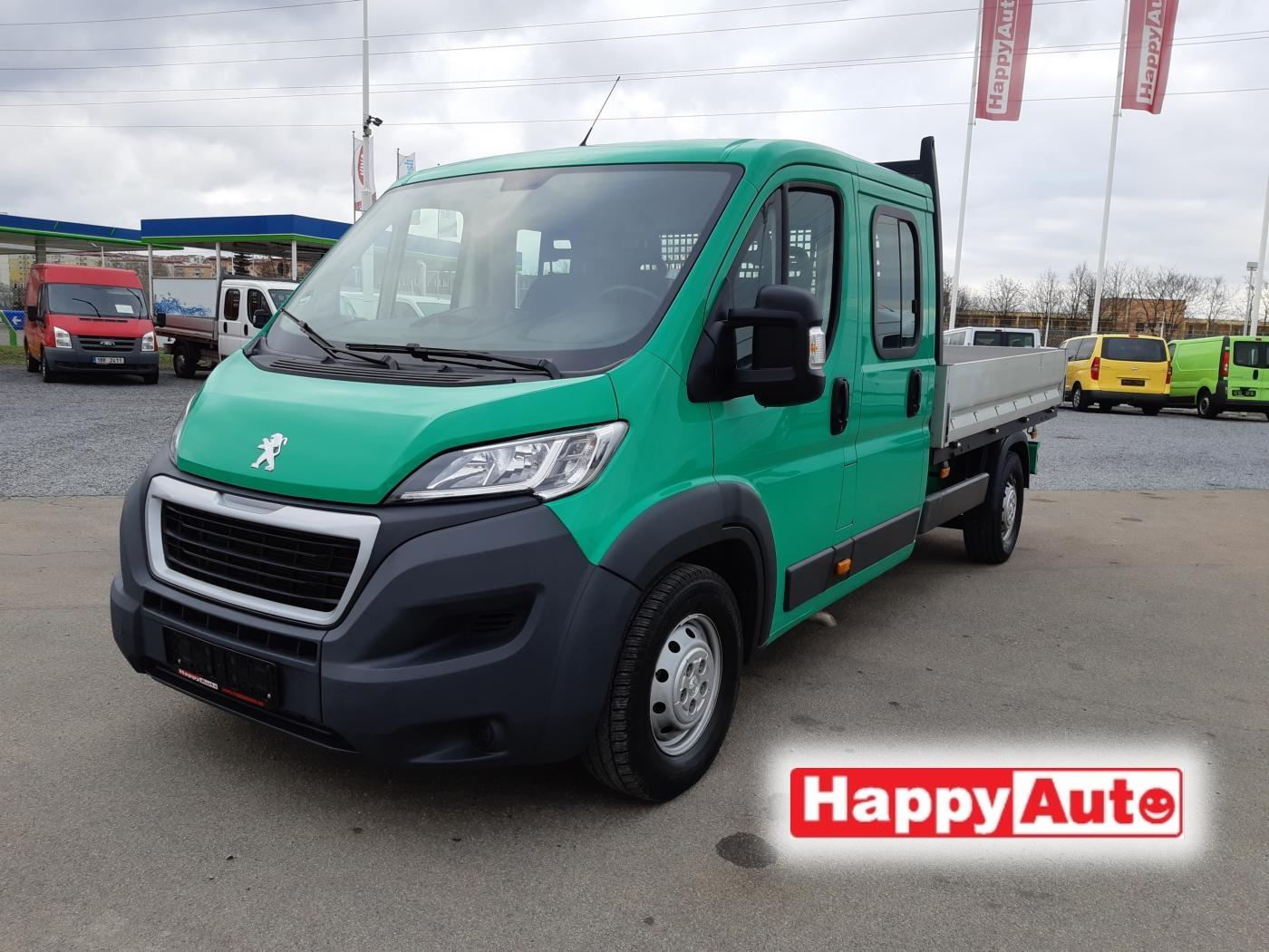 Peugeot Boxer 2.2 HDI 110kW DoubleCab valník